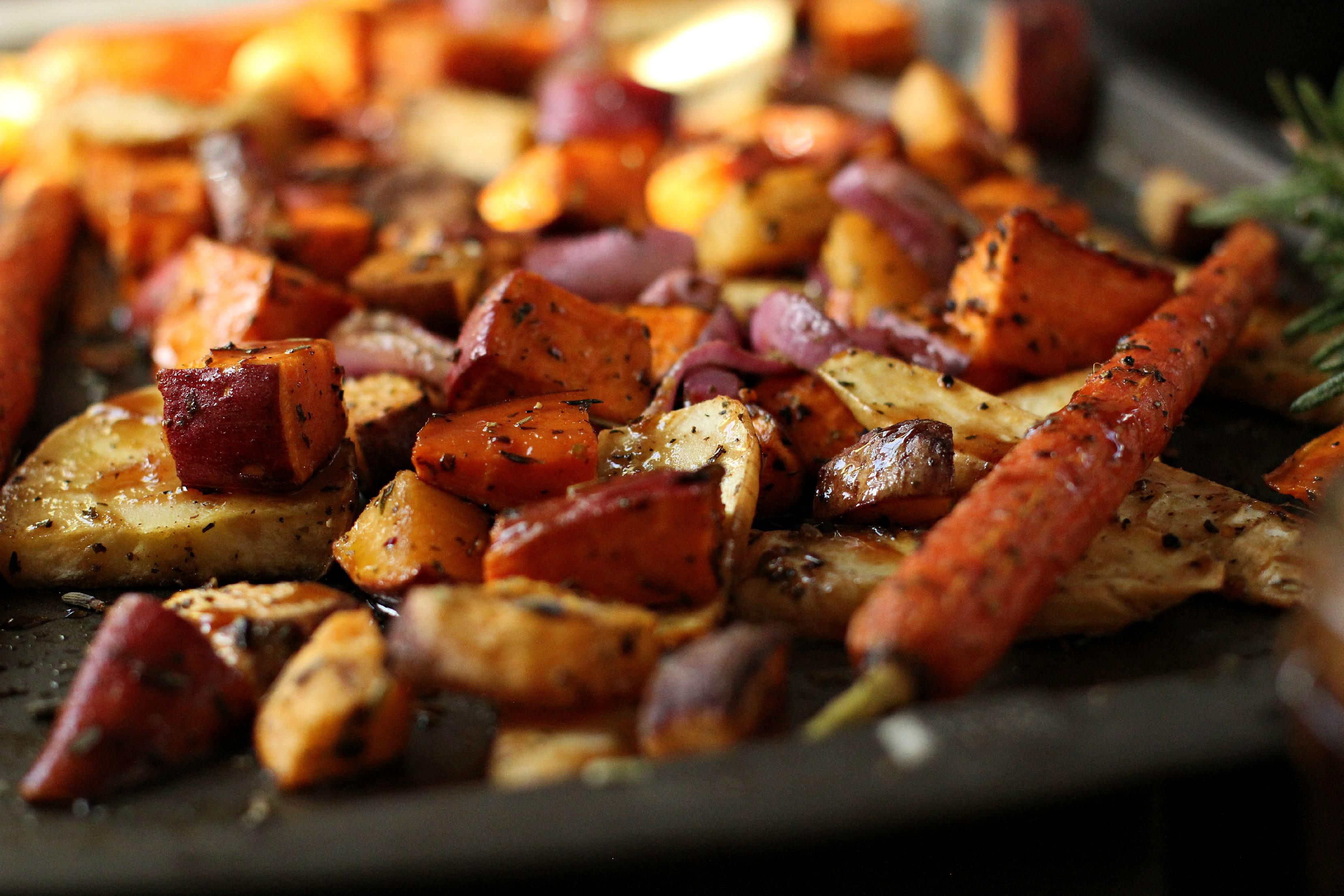 Roasted Root Vegetables -